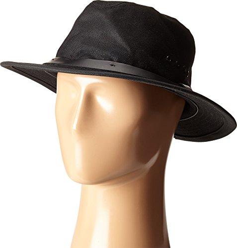 Filson Unisex Tin Packer Hat Black (Oil Finish Tin Cloth)