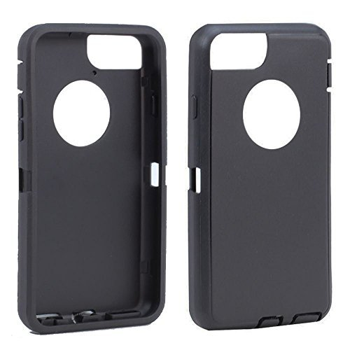 - Replacement TPE Silicone Skin for Otterbox Defender Series Case Cover For Apple iPhone 7 Plus 5.5 inch (Black)