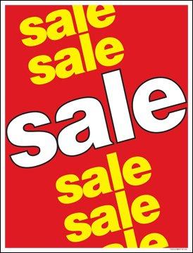Amazon.com: Venta ventana venta cartel carteles Comercios Al ...
