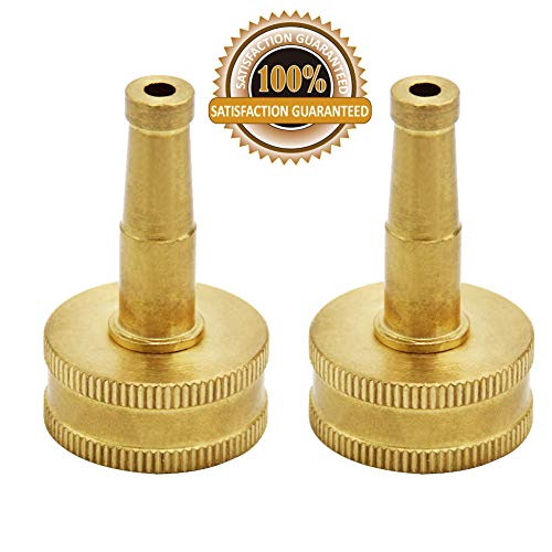 Twinkle Star Brass Jet Sweeper Sprayer Nozzle, 2 Pack, -