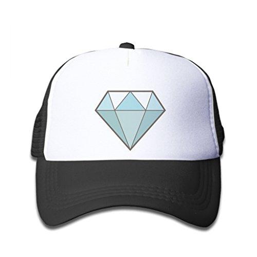 Price comparison product image Baseball Caps Sky Blue Diamond Black White Hat