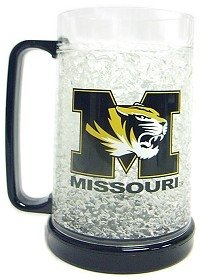 Missouri Tigers Crystal Freezer Mug