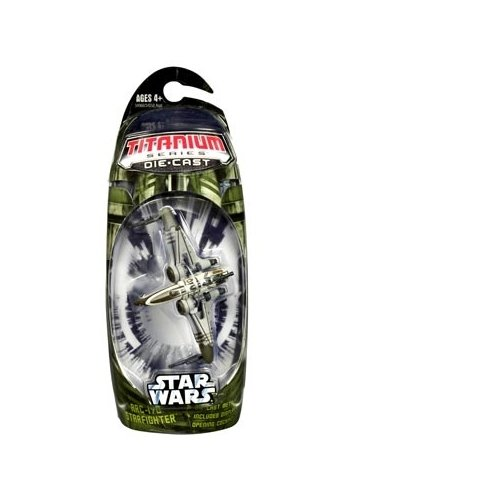 Titanium Series Star Wars 3 Inch Vehicles GREEN Arc-170 Starfighter ()