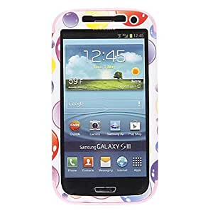GJYDetachable Pattern Colorful Hard and Soft Gel Back Cover Case for Samsung Galaxy S4 I9500 , Black