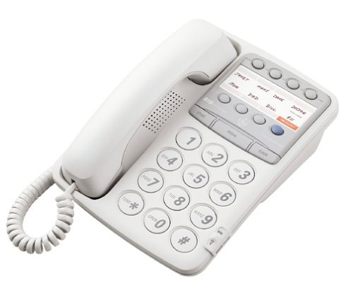 GE 29268ge1 Big Button Memory Corded Phone - White