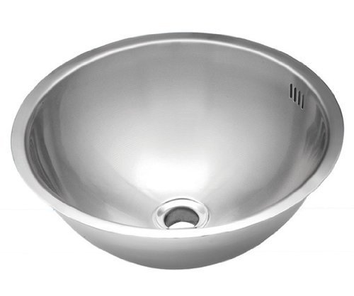 Wells Sinkware JZU1717-7 20-Gauge Single Bowl Undermount Kitchen/Bar Sink, Stainless Steel by Wells Sinkware by Wells Sinkware Corp. -- DROPSHIP