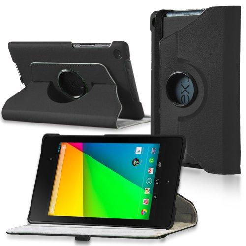 MiniSuit Orbit 360 Case for Google Nexus 7 FHD (2nd Gen 2013) Black