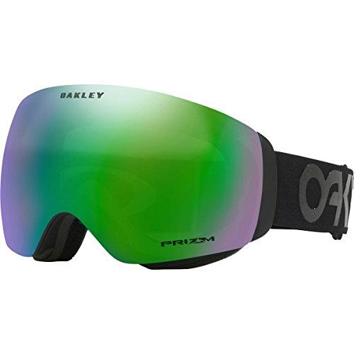 Oakley Flight Deck XM Snow Goggles, Matte Black, Prizm Jade Iridium, - Oakley Iridium Black Goggles