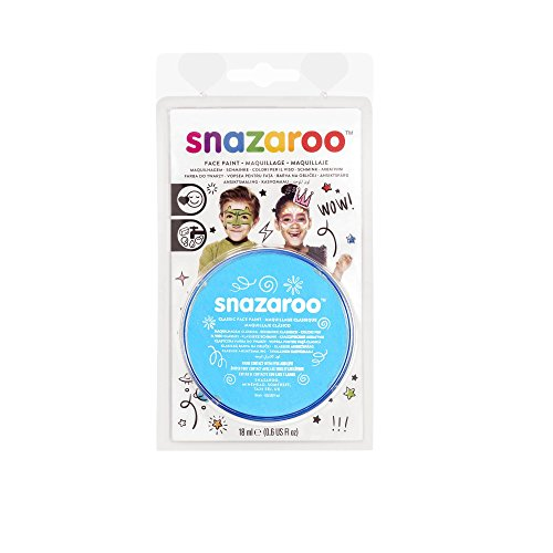 Winsor & Newton Snazaroo Face Paint 18ml Clam Pack Color - Turquoise]()