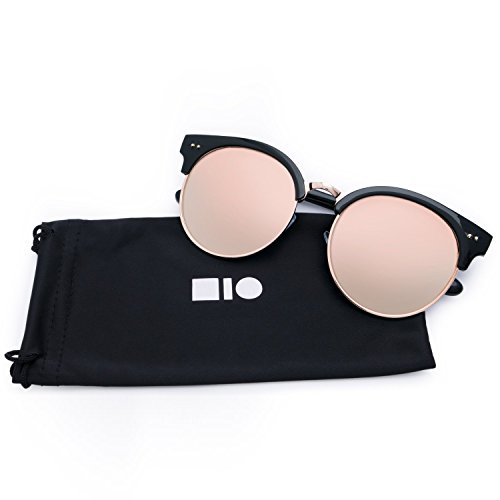 2b9e922941538 Fashion Mio 100 Pink Eyewear Men clubmaster Uv For Woman Protection Mirrored  And Sunglasses IrwOIq ...