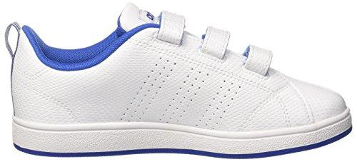 adidas Unisex-Kinder Vs Adv Cl Cmf C Laufschuhe Mehrfarbig (Ftwr White/ftwr White/collegiate Royal)