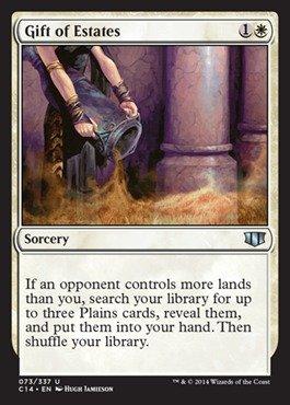 Magic: the Gathering - Gift of Estates - Commander 2014 ()