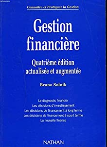 Paperback GESTION FINANCIERE EDITION 94 [French] Book