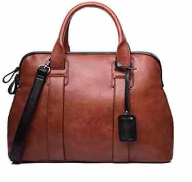 6c5b147ca7d Chibi-store Women Handbags Casual Top-Handle Bags PU Leather,red brown