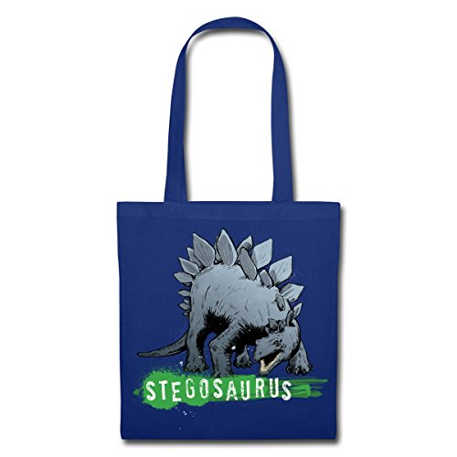 Tote Planet Dinosaur Animal Stegosaurus Spreadshirt Blue Bag Royal q5tIwdPdT