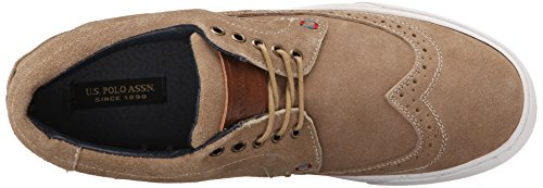 S Casual Mens Wingtip Oxford Polo Assn Crosby U Sand dxtCqXd