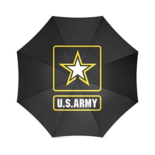 EnnE Umbrella Military US Army Umbrella Compact Lightweight Rain Umbrella 8 Ribs Foldable Travel (Imprinted Golf Umbrellas)