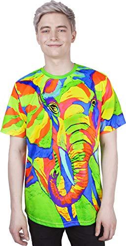 Mountain African Elephant Animal Print Couple Design Gift