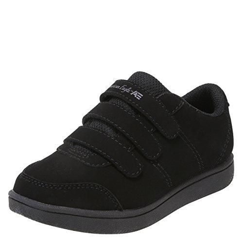 - SmartFit Black Boys' Toddler Noah Triple-Strap Sneaker 11 Regular