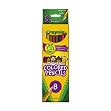 Crayola 8 Multicultural Coloured Pencils