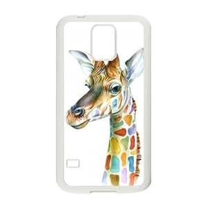 Nymeria 19 Customized Giraffe Diy Design For Samsung Galaxy S5 Hard Back Cover Case DE-180