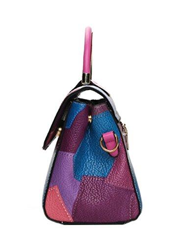 Borsa Purple Donna Tote Viola Clvs OHqBwB