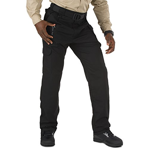- 5.11 Men's Taclite Pro Tactical Pants with Cargo Pockets, Style 74273, Black, 34Wx32L