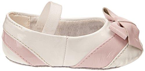 Blanc White Fiochetta Bloch bébé souples fille Chaussures Pink Baby SxqSpUXwB