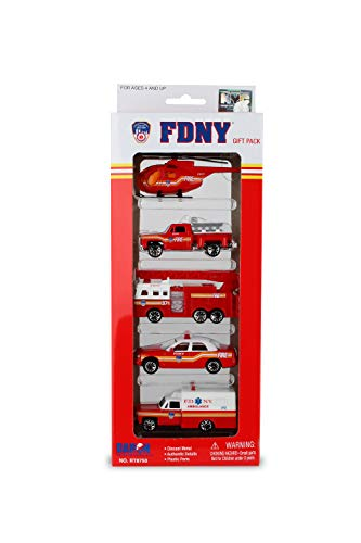 Daron FDNY Vehicle Gift Set, 5-Piece