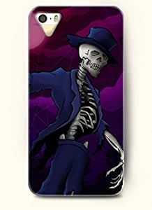 OOFIT Phone Case Design with Skull Wearing Outfit for Apple iPhone 4 4s 4g