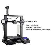 "Comgrow Creality Ender 3 Pro 3D Printer with Upgrade Cmagnet Build Surface Plate and UL Certified Power Supply 8.6"" x 8.6"" x 9.8"" from Creality 3D"