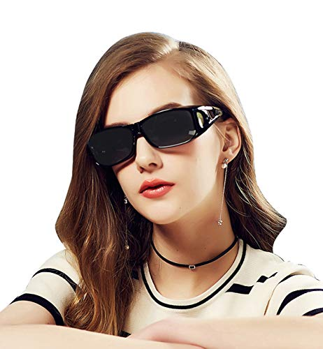 Wear Over Glasses Sunglasses - Polarized - Fit Over Prescription Glasses UV Protection ()