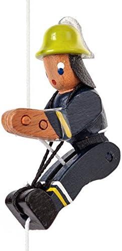 Miniatura de escalada Figura de bombero en neuzeitlicher ...