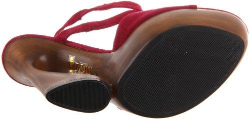 Col Scarpe Rosso amp; Pleaser Burgundy Night Day Tacco Donna qO1SRaTgwy