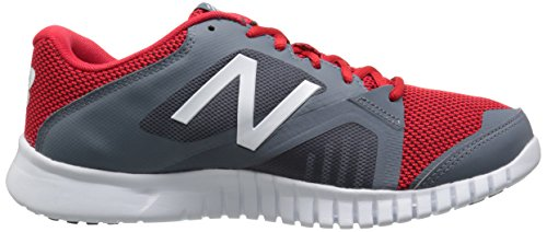 New Balance Herren 613v1 Cross Trainingsschuh Grau / Rot