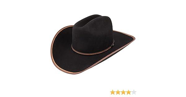 ba55718b97984d Stetson 3X Black Foothills at Amazon Men's Clothing store: