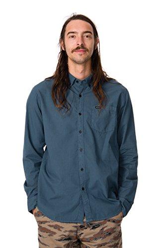 RVCA Men's Revival Long Sleeve Shirt