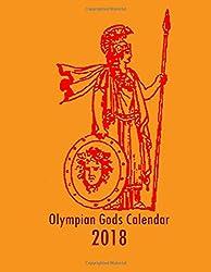 Olympian Gods Calendar 2018