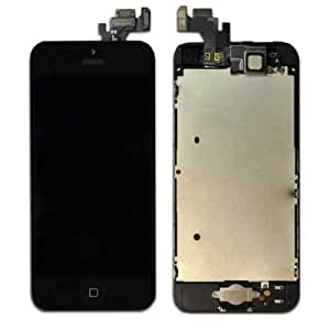 New Front LCD Display+touch Screen Digitizer Assembly Repair for Iphone 5g (black)