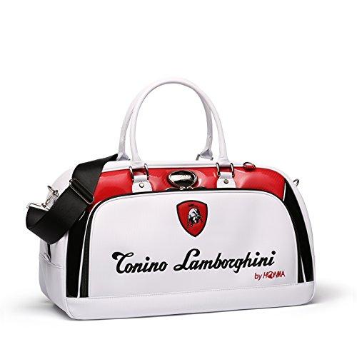 d2ecd326e34 Tonino Lamborghini Golf Boston Bag By Honma (Red)