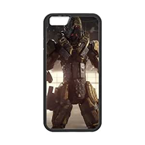 reaper call of duty black ops 3 specialist 4k war robot iPhone 6 4.7 Inch Cell Phone Case Black DA03-282086
