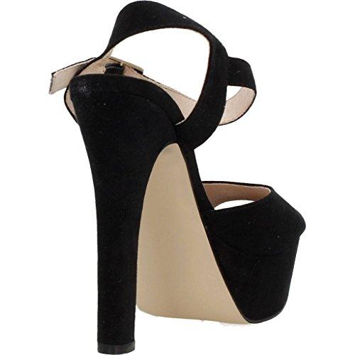 Sandalias vestir 71641 de Color Negro Strada para Negro mujer vestir Marca Sandalias Negro para Modelo La mujer de Bwxp7q7v
