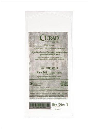 Medline Dressing Gauze Oil Emulsion Curad, 36 (Oil Emulsion Dressing)