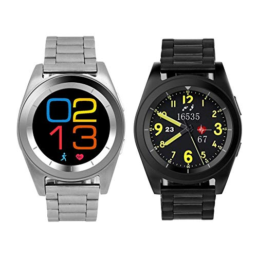 Yao NO.1 G6 Smart Watch Steel Strap Sport Watch Bluetooth ...