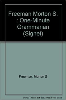 The One-minute Grammarian