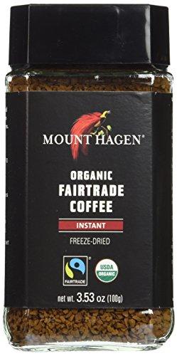 Mount Hagen Organic Freeze Dried Instant Coffee, 3.53 oz