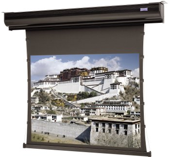 - 88532 Contour Electrol Motorized Front Projection Screen - 58 x 104