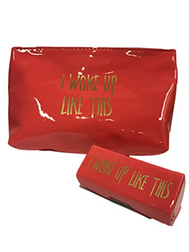 DM Mockingbird Cosmetic Bag and Lipstick Case I Woke Up Like This