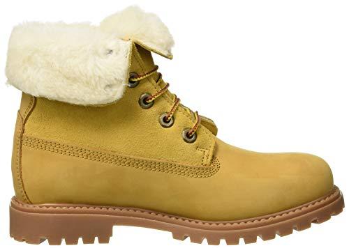 Bottes 016 M19 Lumberjack Femmes SW00101 Jaune qtA4x4