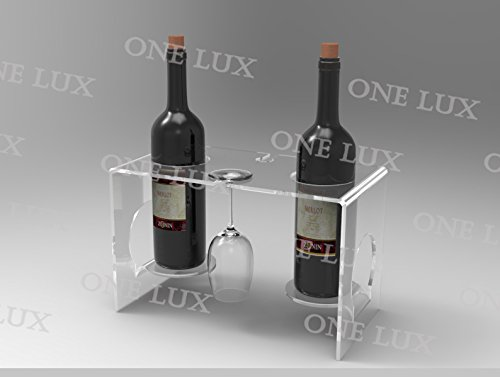 Waterfall perfect home use wine rack Lucite,Acrylic wine glass holder